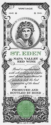 Bond St. Eden label
