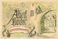 Domaine Albert Boxler Gewürztraminer Brand Grand Cru label