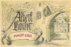 Domaine Albert Boxler Pinot Gris Brand Grand Cru label