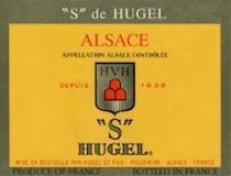 Hugel et Fils Gewürztraminer S SGN label