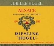 Hugel et Fils Riesling Jubilee label