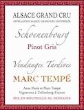 Domaine Marc Tempé Schoenenbourg VT Grand Cru label