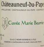 Henri Bonneau Châteauneuf-du-Pape Cuvée Marie Beurrier label