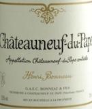 Henri Bonneau Châteauneuf-du-Pape Henri Bonneau label