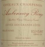 Egly-Ouriet Ambonnay Cuvée des Grands Côtes Vieilles Vignes label