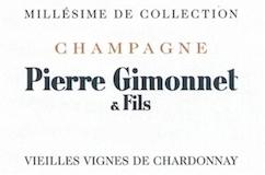 Pierre Gimonnet et Fils Millésime de Collection Blanc de Blancs Vieilles Vignes label