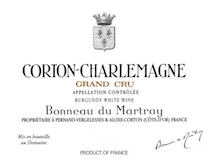 Domaine Bonneau du Martray Corton-Charlemagne Grand Cru  label