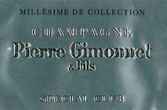 Pierre Gimonnet et Fils Spécial Club Brut Millésime Premier Cru label