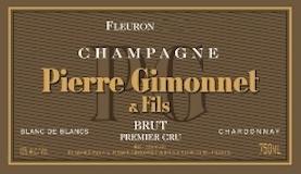 Pierre Gimonnet et Fils Fleuron Brut Blanc de Blancs Premier Cru label