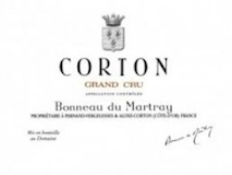 Domaine Bonneau du Martray Corton Grand Cru  label