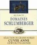 Domaine Schlumberger Cuvée Anne Gewürztraminer SGN Grand Cru label