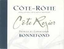 Domaine Patrick et Christophe Bonnefond Côte Rôtie Côte Roziers label