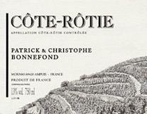Domaine Patrick et Christophe Bonnefond Côte Rôtie  label