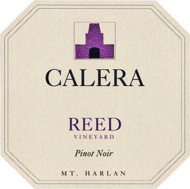 Calera Reed Vineyard Pinot Noir label