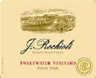 Rochioli Vineyards and Winery Sweetwater Vineyard Pinot Noir label