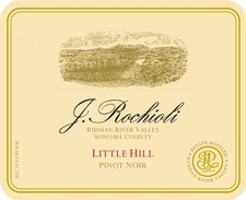 Rochioli Vineyards and Winery Little Hill Pinot Noir label