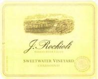 Rochioli Vineyards and Winery Sweetwater Vineyard Chardonnay label