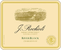 Rochioli Vineyards and Winery River Block Chardonnay label