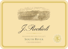 Rochioli Vineyards and Winery South River Vineyard Chardonnay label