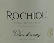 Rochioli Vineyards and Winery Estate Chardonnay label