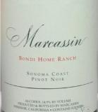Marcassin Bondi Home Ranch Pinot Noir label