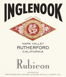 Inglenook Rubicon label