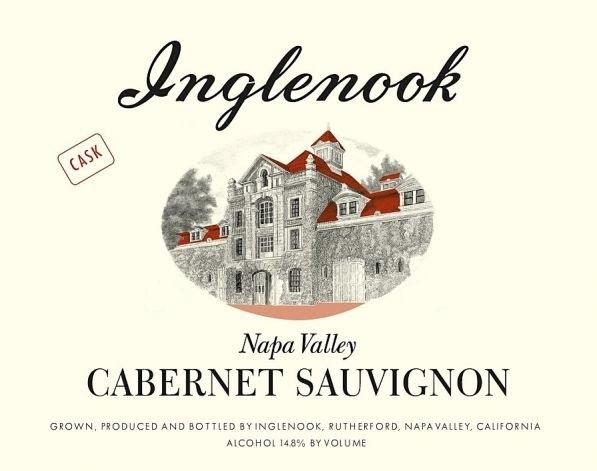 Inglenook Cask Cabernet Sauvignon label