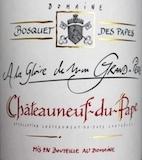 Domaine Bosquet des Papes Châteauneuf-du-Pape A la Gloire de mon Grand-Père label