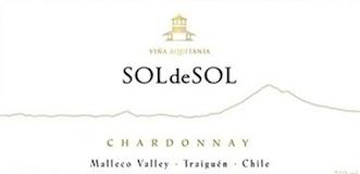 Viña Aquitania Sol de Sol Chardonnay label