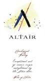 Altaïr Vineyards & Winery Altaïr label