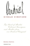 Bodega Norton  Finca Perdriel Single Vineyard label