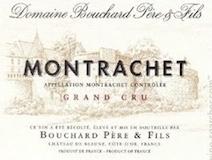 Bouchard Père et Fils Montrachet Grand Cru  label