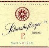 Van Volxem Scharzhofberger Pergentsknopp Riesling Grosses Gewächs label