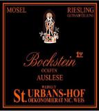 Weingut St. Urbans-Hof Ockfener Bockstein Riesling Auslese label