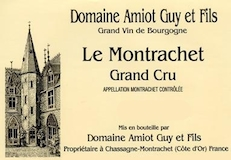 Domaine Guy Amiot et Fils Montrachet Grand Cru  label