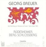 Georg Breuer Rüdesheimer Berg Schlossberg Riesling Trocken label