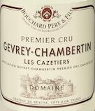 Bouchard Père et Fils Gevrey-Chambertin Premier Cru Les Cazetiers label