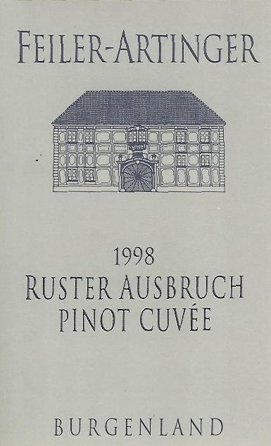 Weingut Feiler-Artinger Pinot Cuvée Ruster Ausbruch label