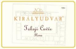 Királyudvar Tokaj Cuvée Ilona label