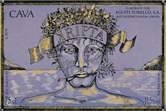 Agusti Torelló Mata Cava Kripta Gran Reserva label