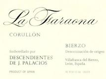 Descendientes de José Palacios La Faraona label