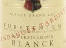 Domaine Paul Blanck Gewürztraminer Furstentum VT Grand Cru label