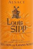 Louis Sipp Riesling Kirchberg de Ribeauville SGN Grand Cru label
