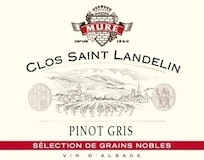 Domaine du Clos St Landelin - Véronique et Thomas Muré Pinot Gris Vorbourg SGN Grand Cru label