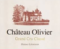 Château Olivier  Cru Classé de Graves label