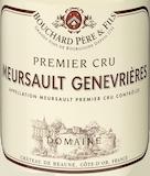 Bouchard Père et Fils Meursault Premier Cru Genevrières label