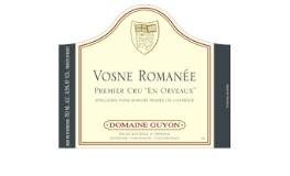 Domaine Guyon Vosne-Romanée Premier Cru En Orveaux label