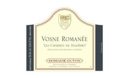 Domaine Guyon Vosne-Romanée Charmes de Mazières label