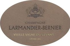 Larmandier-Bernier Vieilles Vignes de Levant Extra Brut Grand Cru label