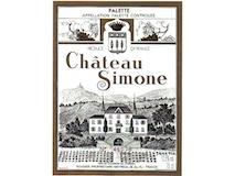 Château Simone Palette Rosé label